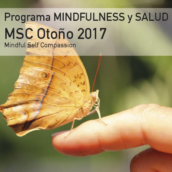 Programa Mindfulness y Autocompasión MSC Otoño 2017